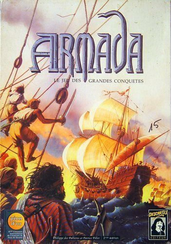 Jeu de  société Armada - Le Jeu des Grees Conquêtes - Desautotes - 1991 -  prezzi all'ingrosso