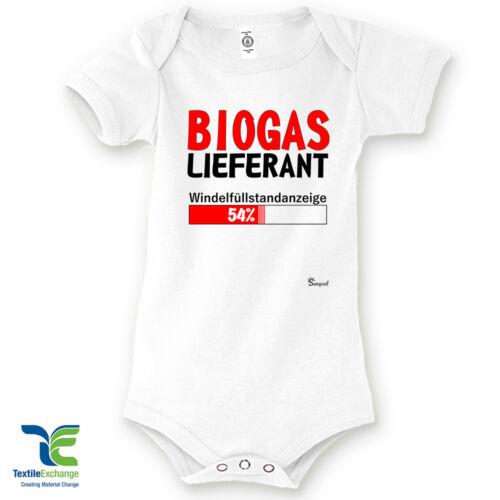 Babystrampler Strampler 100/% Bio Baumwolle Spruch Motiv Geburt Geschenk Body