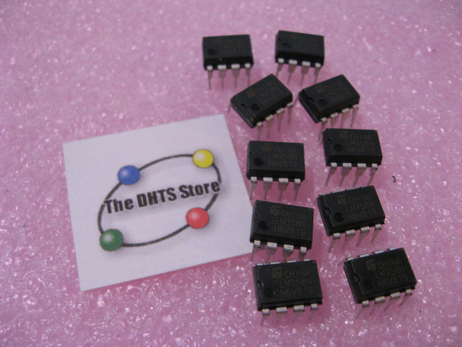 Lm358n Dual Opamp Operational Amplifier Ic Dip 8 Pin St Micro Lm358 Noninverting Page 2 Ebay