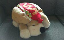 "18"" FAO Schwarz Dog Patrick w/ HOTDOG outfit costume Doggy Puppy Cute"