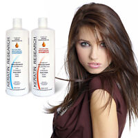 Moroccan Argan Oil Infused Sulfate Free Shampoo Conditioner Set For Keratin Hair