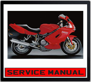 ducati st4 st4s 2002 2005 bike repair service manual in dvd ebay rh ebay com au