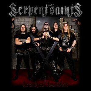 Serpent-Saints-Leather-Lucifer-MCD-2008-True-Evil-Occult-Heavy-Metal