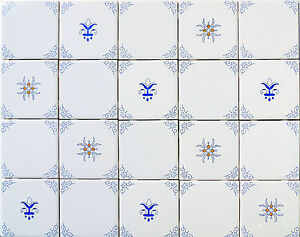 Blue-White-and-Yellow-Delft-Style-Country-French-Kitchen-Tiles