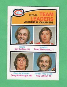 1976-77-OPC-O-PEE-CHEE-388-Canadiens-Team-Leaders-nrmnt