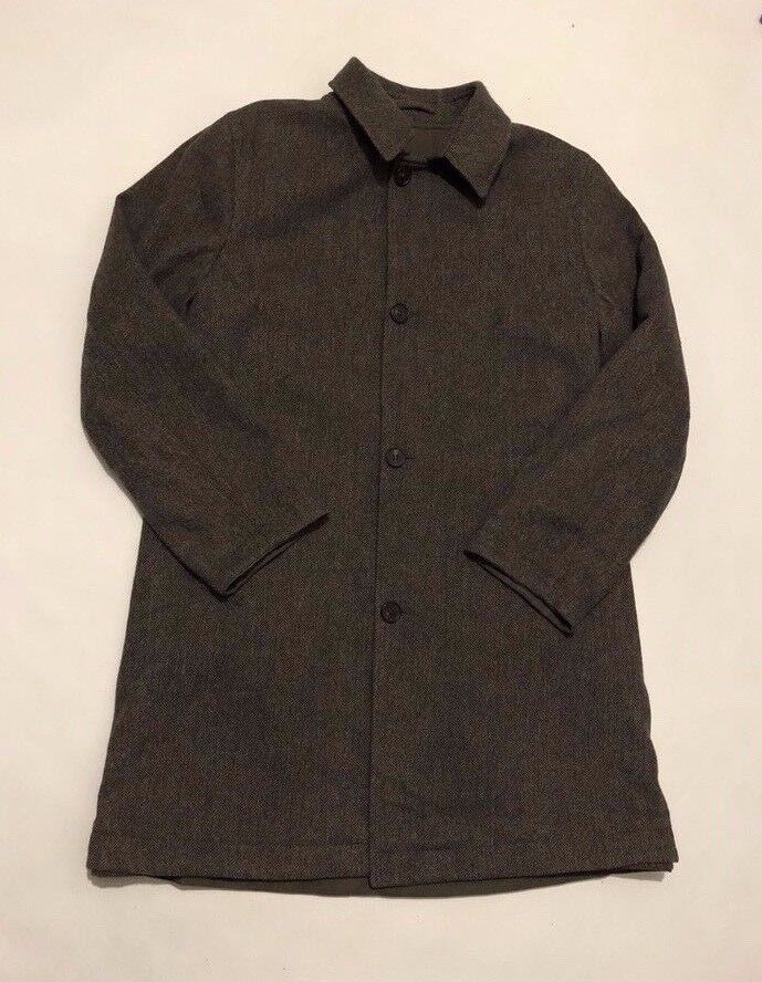 CORNELIANI ID virgin wool coat