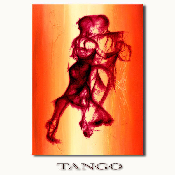 Tango Danza COPPIA appassionatamente ballare quando siTela Immagini Arte Modern