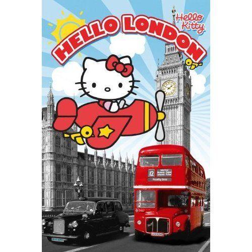 Poster Wall Print Home Decor Vintage Hello Kitty Maxi Paris 61cm x 91.5cm 377