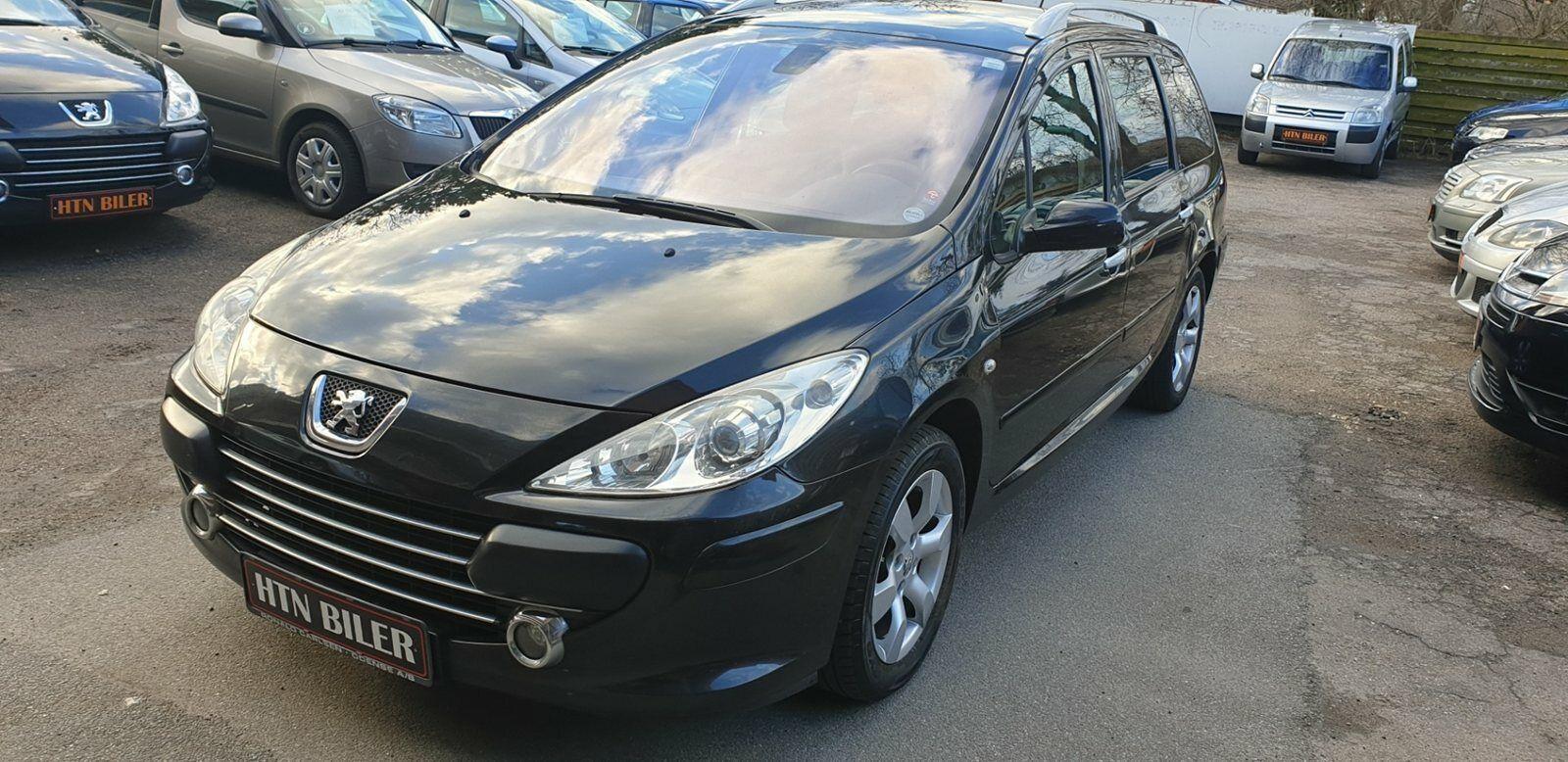 Peugeot 307 2,0 T6 Griffe SW 7prs 5d - 47.900 kr.