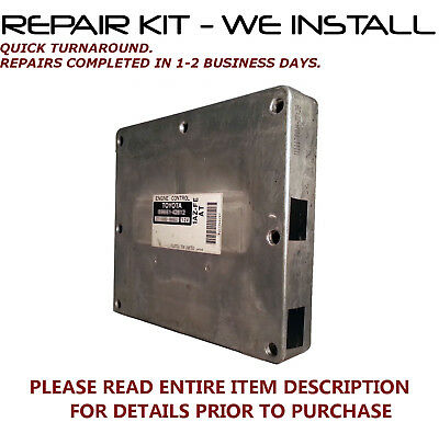 2001-2003 Toyota Rav4 ECM ECU Engine Computer Repair /& Return  Rav4 ECU Repair
