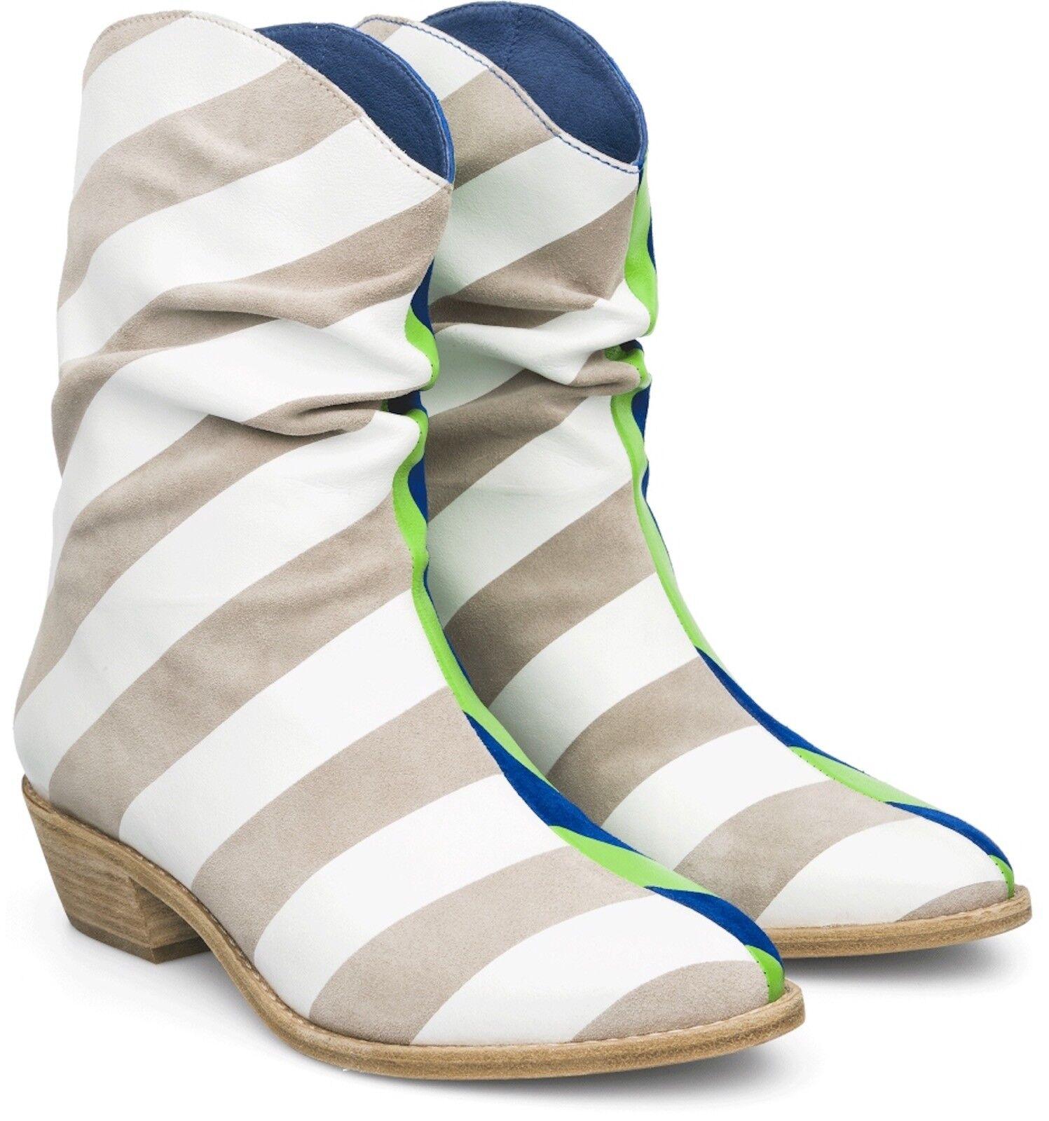 320 Bernhard Willhelm X Camper US 9 EU 39 39 39 Together Twins Ankle Stiefel 46721-001 439862
