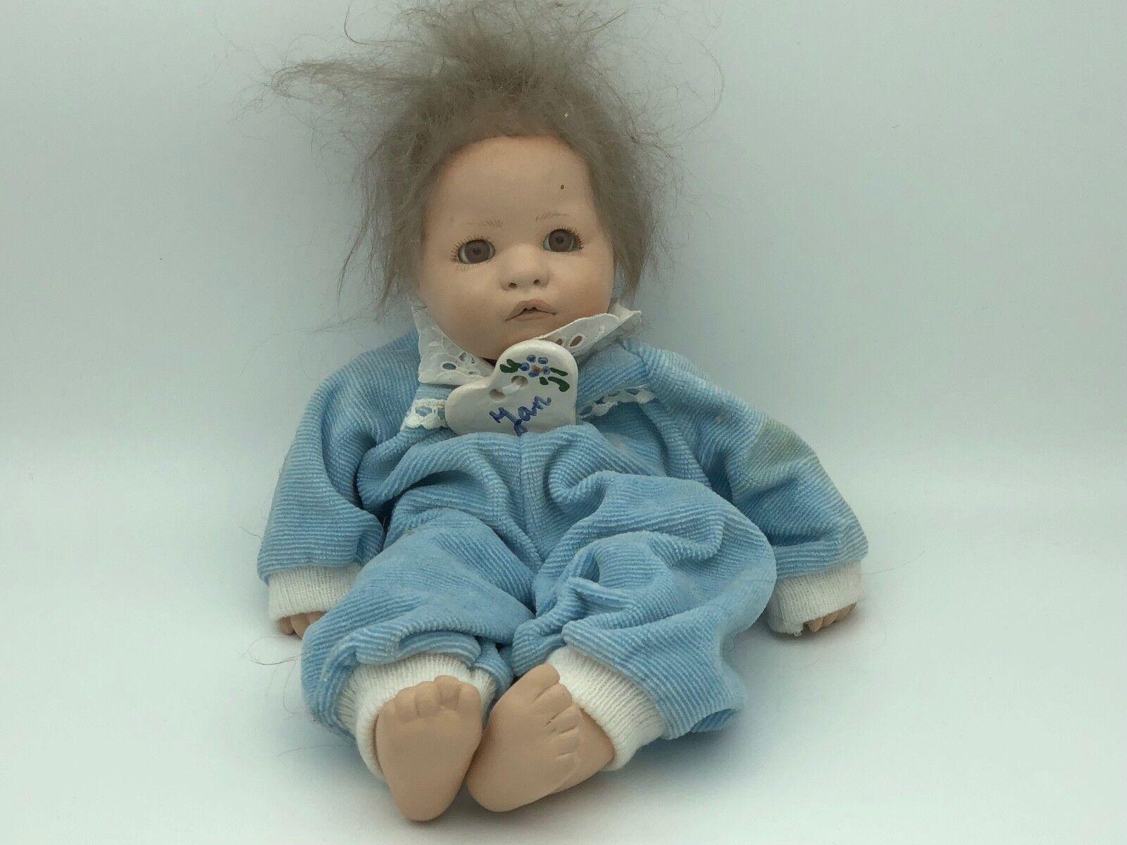 Dolls Art Dolls-ooak Künstlerpuppe Porzellan Puppe 58 Cm Top Zustand