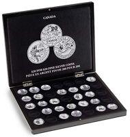 Canada Fine Silver Coin Presentation Box $20 Royal Canadian Mint Perth 1/4 Oz Us