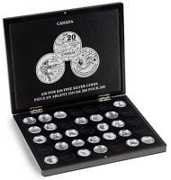 Canada Fine Silver Coin Presentation Box $20 Royal Canadian Mint Perth 1/4 Oz Us
