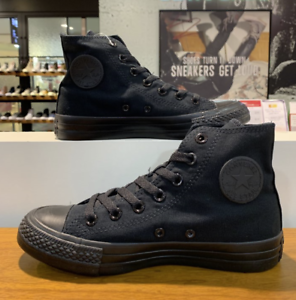 Details about Converse Chuck Taylor All star Core Hi Sneakers Shoes Black  M3310 Size 5-10