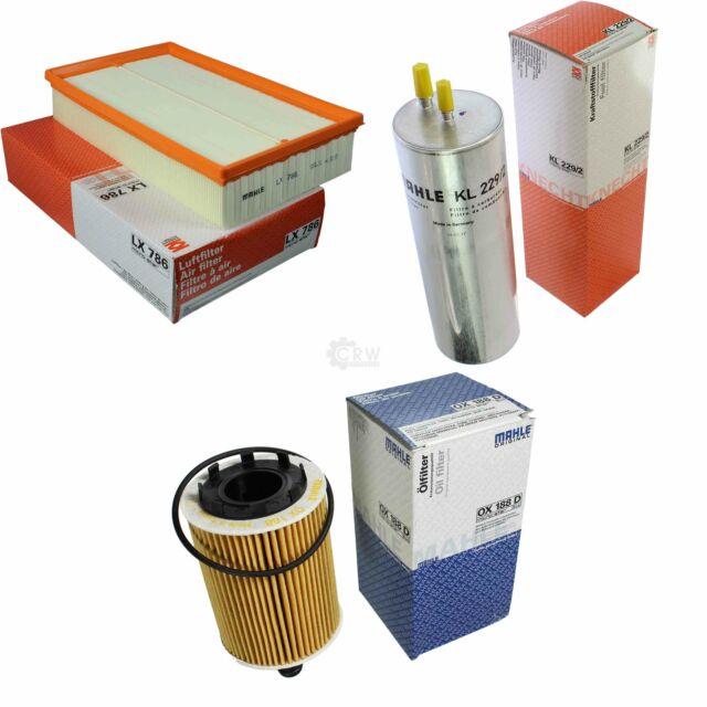 Mahle / Knecht Filtro de Combustible Pequeño 229/2 Aire LX 786 Ox Aceite 188D