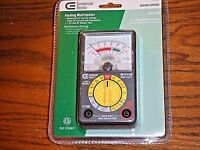 Commercial Electric Analog Multimeter M1015b Voltage Current And Resistance Nip