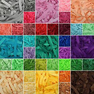 Fold-Over-Elastic-70-New-Colours-15mm-5-8-034-Soft-Shiny-Baby-Headband-Tutu-FOE