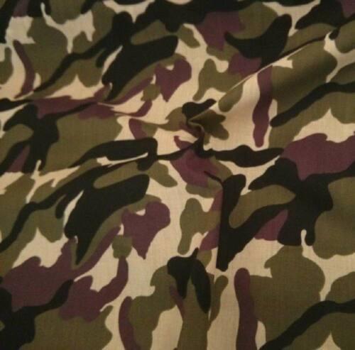 Camouflage En Polycoton Tissu