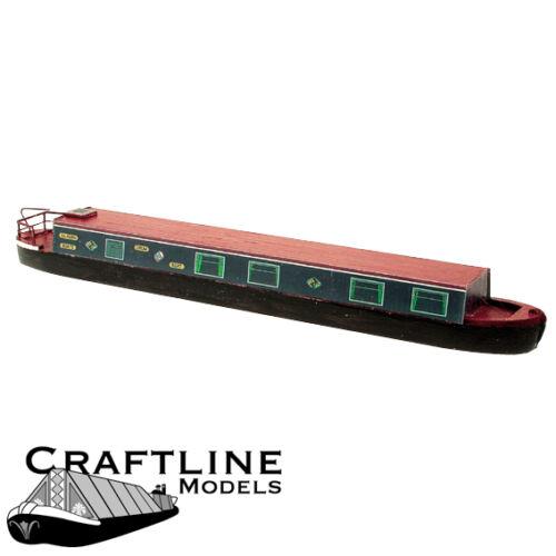 free post OO balsa kit SIL56 54ft Holiday Cruiser Narrow Boat Craftline