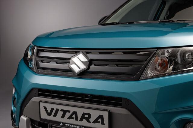2pcs For Suzuki Vitra 16 Vehicle Daytime Running Light Eyebrow Bezel Large Trim