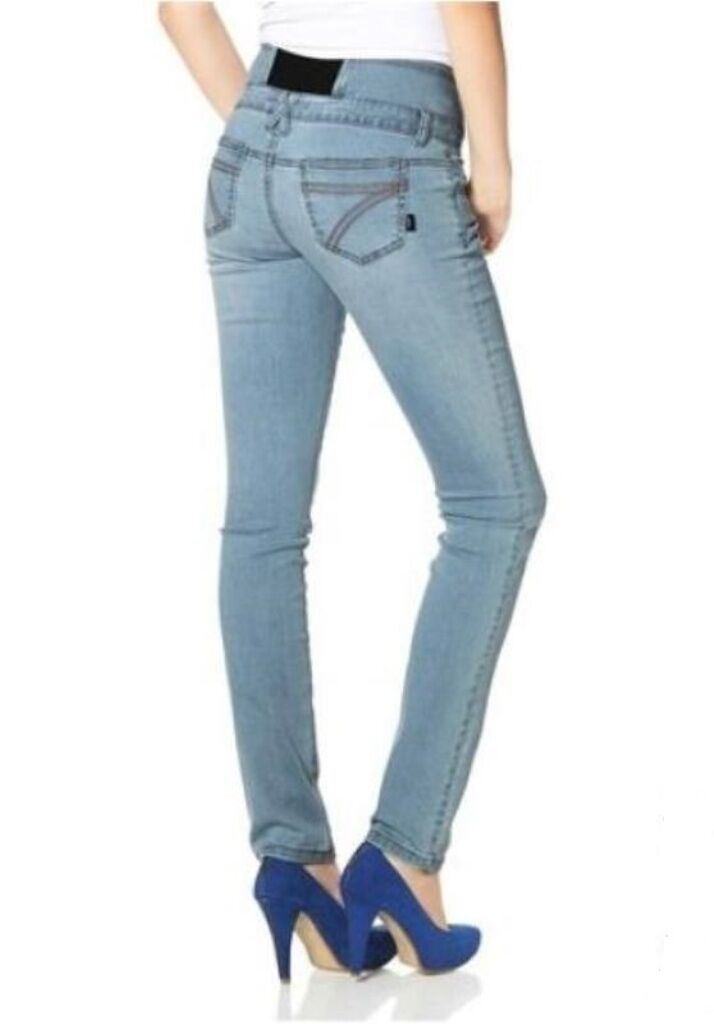 Arizona - Jeans Slim fit Gr.42 Röhrenjeans Bauchweg Jeans NEU