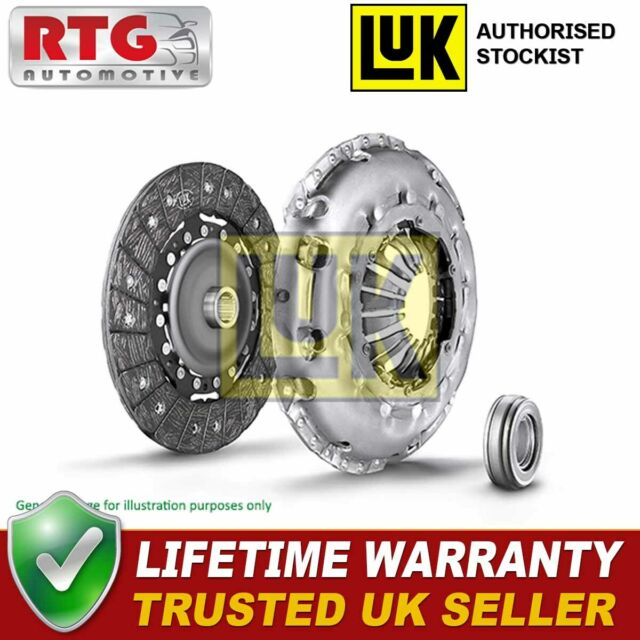 Clutch Kit 3pc Cover+Plate+Releaser 624337100 LuK 21207546376 21207546377 New