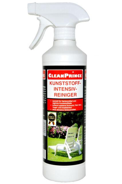 Limpiador Plástico Detergente 500ML Hay Mesas Sillas Jardín Campamento Plaste