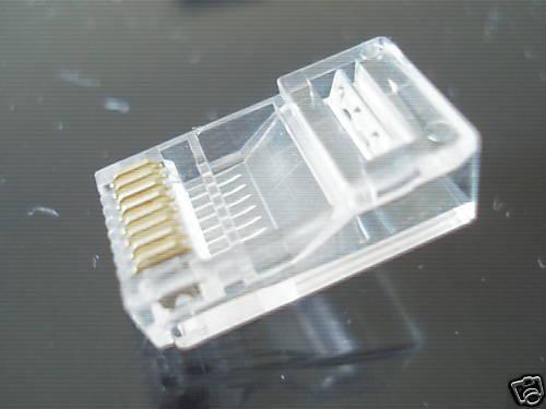 200 pcs RJ45 8P8C Modular PLUGS plug Cat5e Cat5 network