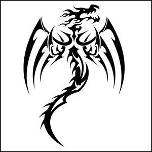 DRAGON STICKER Tattoo RARE HOT NEW Decal G10