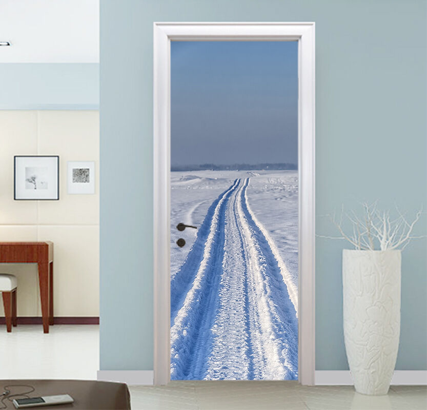 3D Schnee 86 Tür Wandmalerei Wandaufkleber Aufkleber AJ WALLPAPER DE Kyra