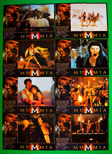 H38 Lot Fotobusta Die Mumie The Mummy Weisz Hannah Vosloo Hyde Sommers Duscay