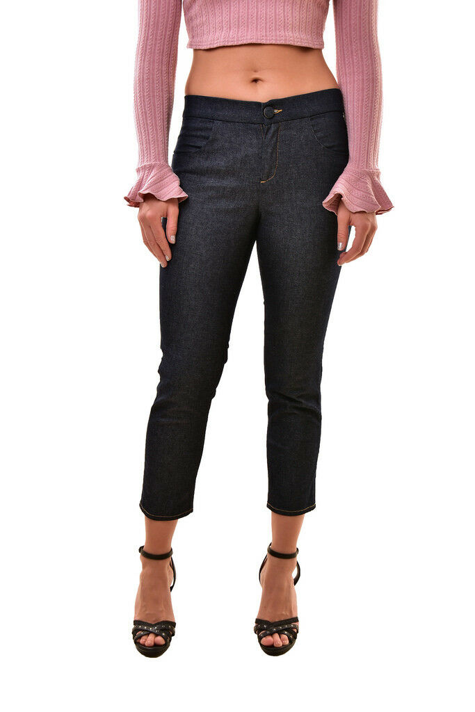 J BRAND Women's High Rise Comfortable Cropped Jeans bluee 26 RRP  264 BCF810