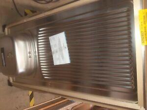 evier inox 1 cuve + 1 égouttoir EPAZ120