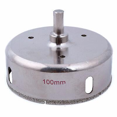 "10 mm Brazed Diamond Hole Saw Core Drill Bit Masonry Stone Tools Hex Shank 3//8/"""