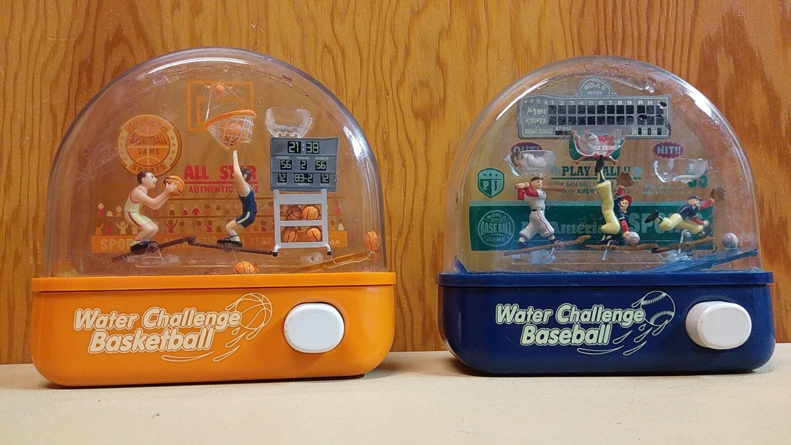 Wasser herausforderung baseball basketball vintage penny japan unternehmen