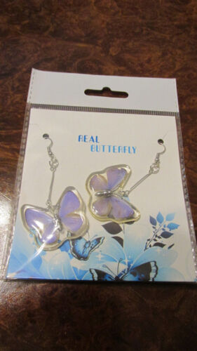 Details about  /Butterfly ear rings new in box real
