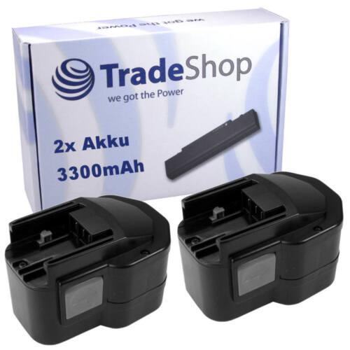 2x Batterie 12v 3300mah pour AEG Milwaukee pad12 pas12pp pcg12 pcs12t pep12
