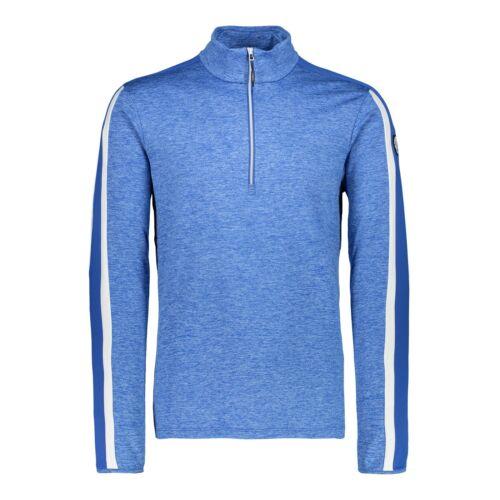 CMP Fleecepullover MAN SWEAT blau atmungsaktiv elastisch wärmend