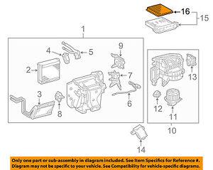 Genuine Toyota Cabin Air Filter 871394701083