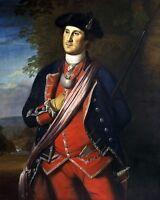 11x14 Photo: Earliest Authenticated Portrait Of George Washington, 1772