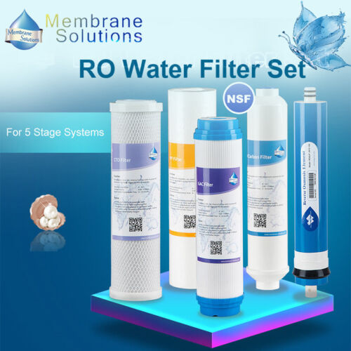 5Stage Water Filter Replace Watts Premier//560088 560030// WP2-LCV,415 RO,W560033