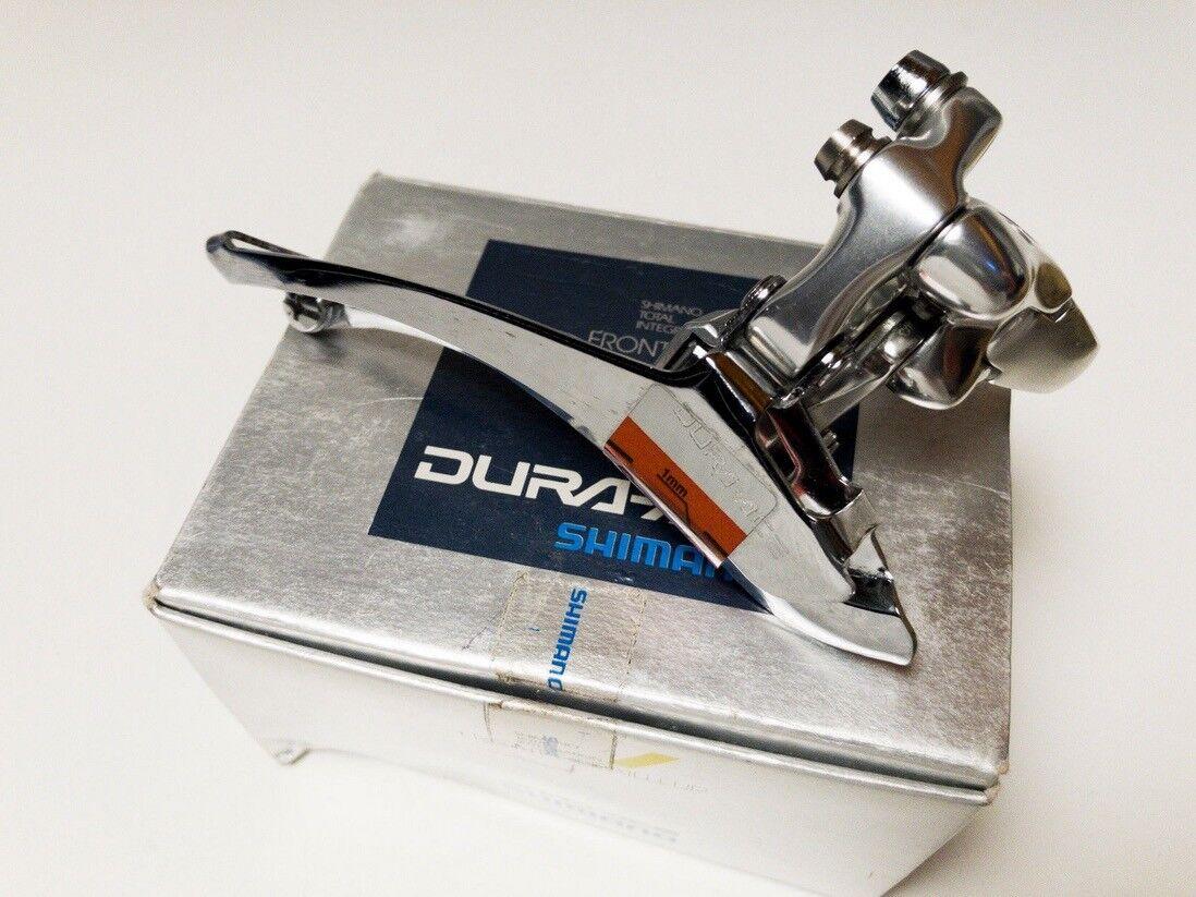 FRONT DERAILLEUR SHIMANO DURA-ACE FD-7410 NEW NOS NIB deragliatore anteriore