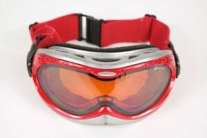 Vintage Alpina SkibrilleUATTROFLEX 85[]20 Rot oval Sonnenbrille sunglasses NOS