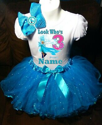 Doc McStuffins Birthday Party Dress 3rd Birthday Turquoise Tutu Outfit Shirt