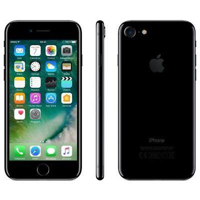 TELEFONO SMARTPHONE APPLE IPHONE 7 32GB JET BLACK NERO LUCIDO GAR 24 MESI NUOVO