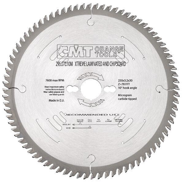 Lame CMT XTreme per melaminici e laminati, lunga durata Cod.  295