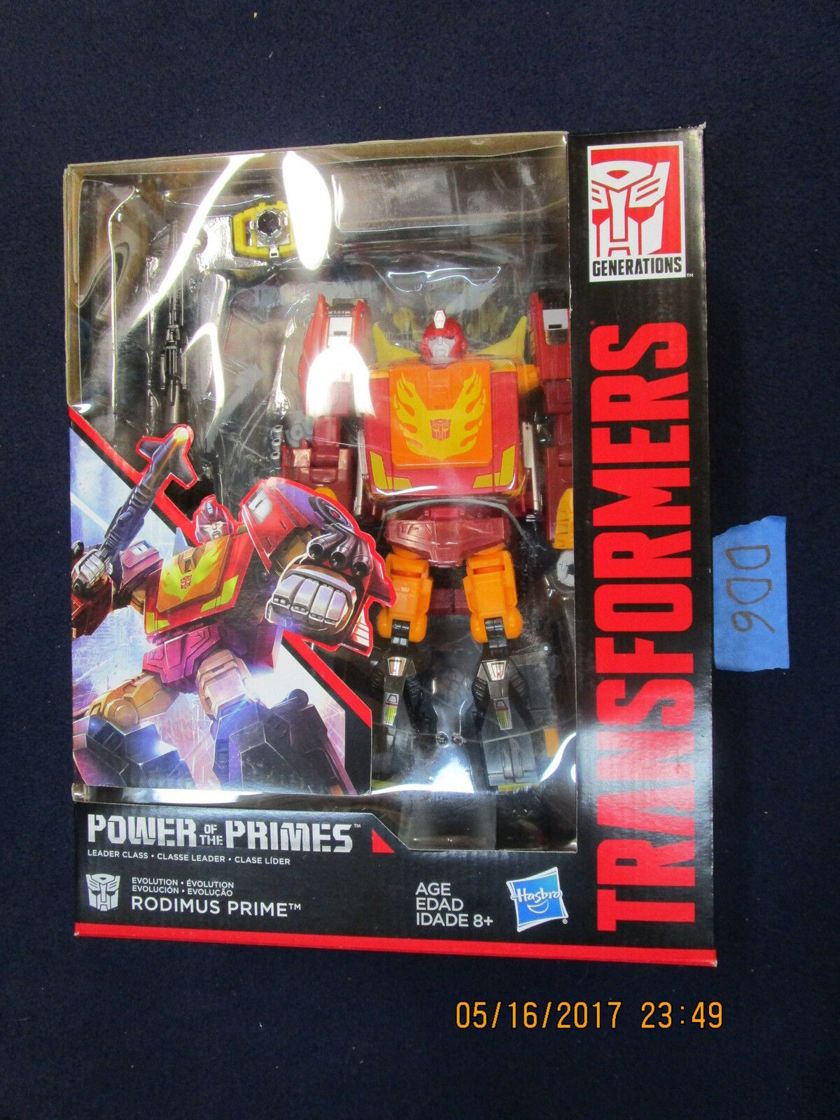 DD6 Transformers Generations Lot RODIMUS PRIME Leader Leader Leader classe energia of the Primes f91c3e