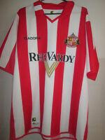 Sunderland 2004-2005 Home Football Shirt Size Large adult diadora reg vard /7795