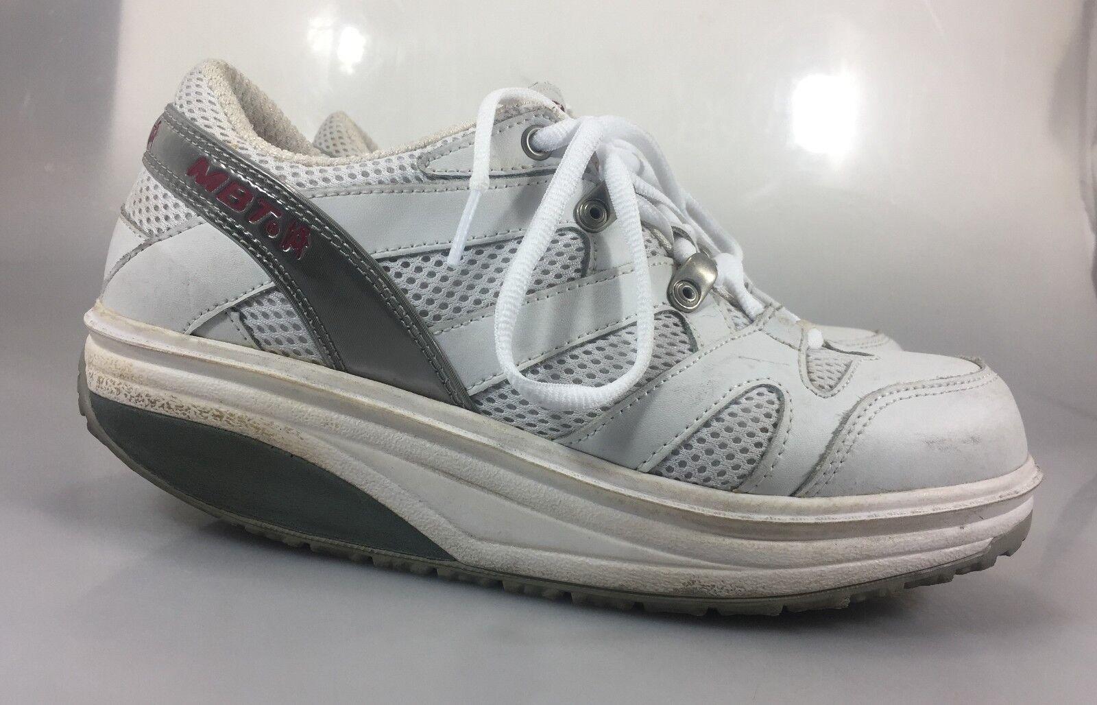 MBT Sport Walking scarpe donna donna donna 7.5 Uomo 5.5 bianca 37 2 3 EU bianca b13dd8